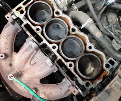 Poorly engine