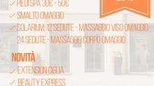 Settembre: promozioni e novità di benessere e bellezza al Noir Village a Pistoia.