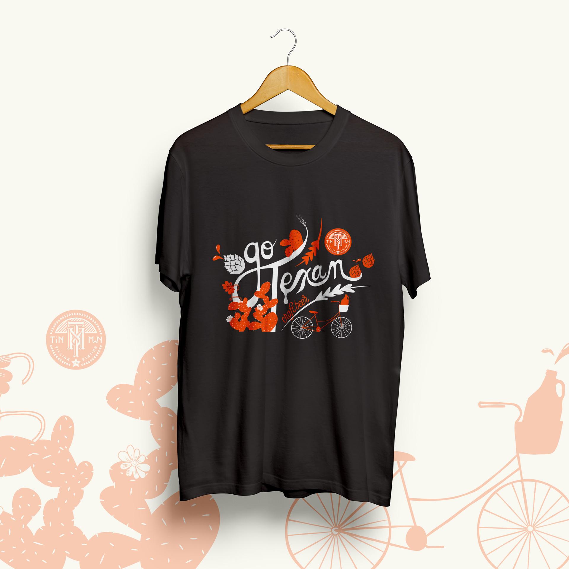Tinman T-Shirt - Go Texan