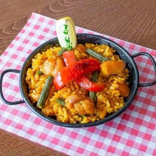 Paella De Pollo Y Verduras £6.90
