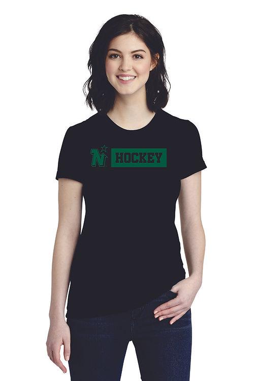 HOCKEY - American Apparel ® Women's Fine Jersey T-Shirt