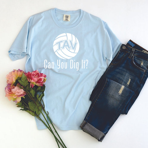 Can You Dig It - Comfort Colors ® Heavyweight Ring Spun Tee