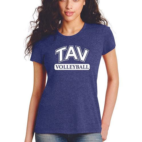 TAV Volleyball Block - Alternative Women's The Keepsake Vintage 50/50 Tee