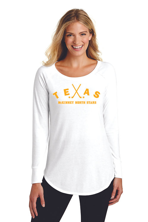 TEXAS - District ® Women's Perfect Tri ® Long Sleeve Tunic T