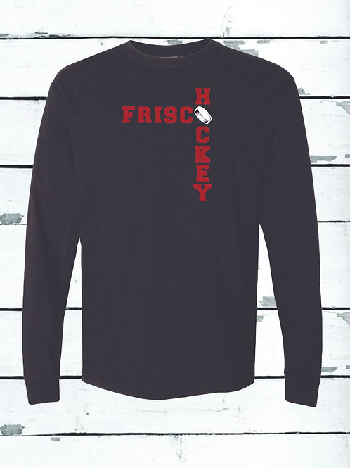 FRISCO HOCKEY - Long Sleeve Comfort Colors ® Heavyweight Ring Spun Tee