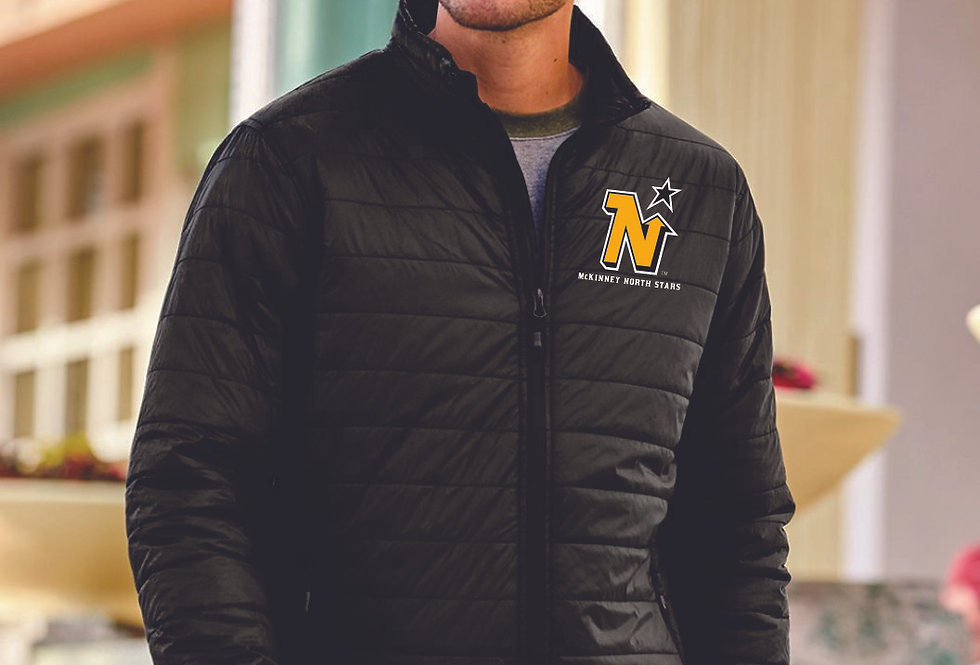 MEN'S NORTH STARS - Independent Trading Co. - Puffer Jacket