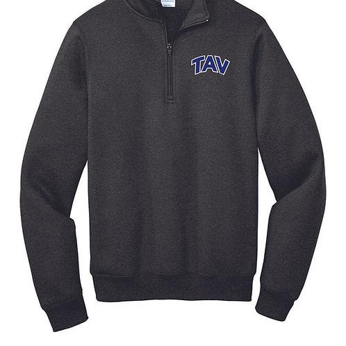 EMBROIDERED - Port & Company ® Core Fleece 1/4-Zip Pullover Sweatshirt