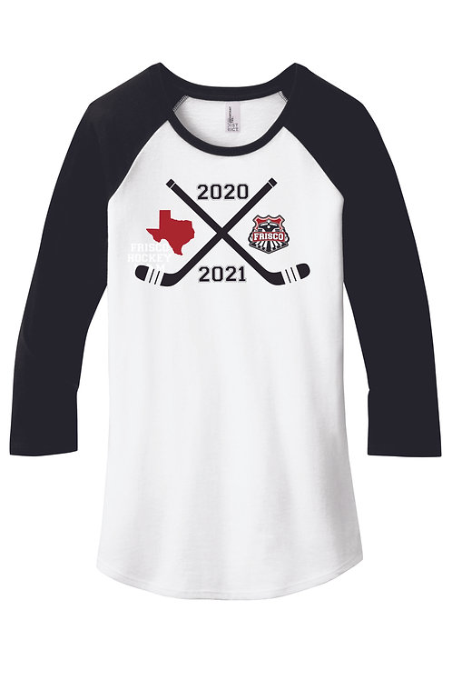 FRISCO 2020/21 - District ® Women's Fitted Very Important Tee ® 3/4-Sleeve