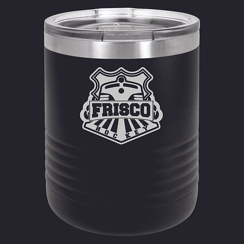 LASER ETCHED - 10 OZ STAINLESS STEEL INSULATED SUREGRIP TUMBLER