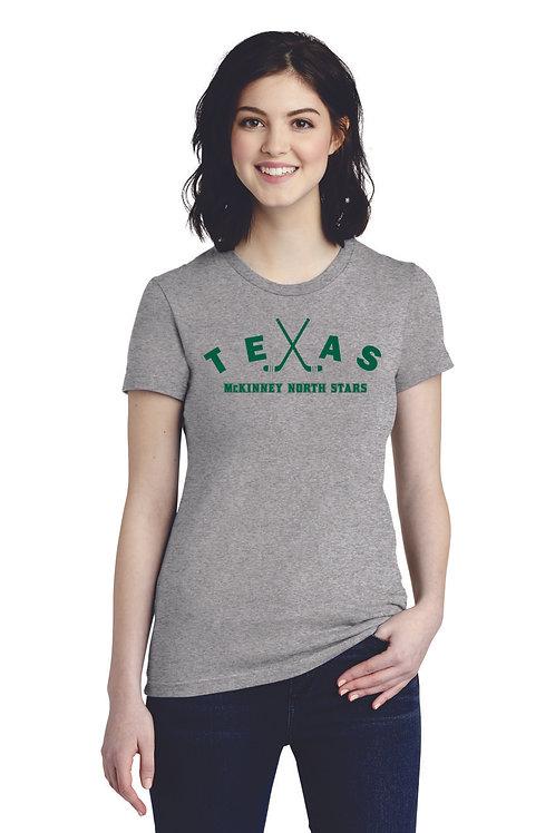 TEXAS - American Apparel ® Women's Fine Jersey T-Shirt