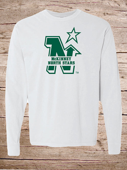 NORTH STARS - Long Sleeve Comfort Colors ® Heavyweight Ring Spun Tee