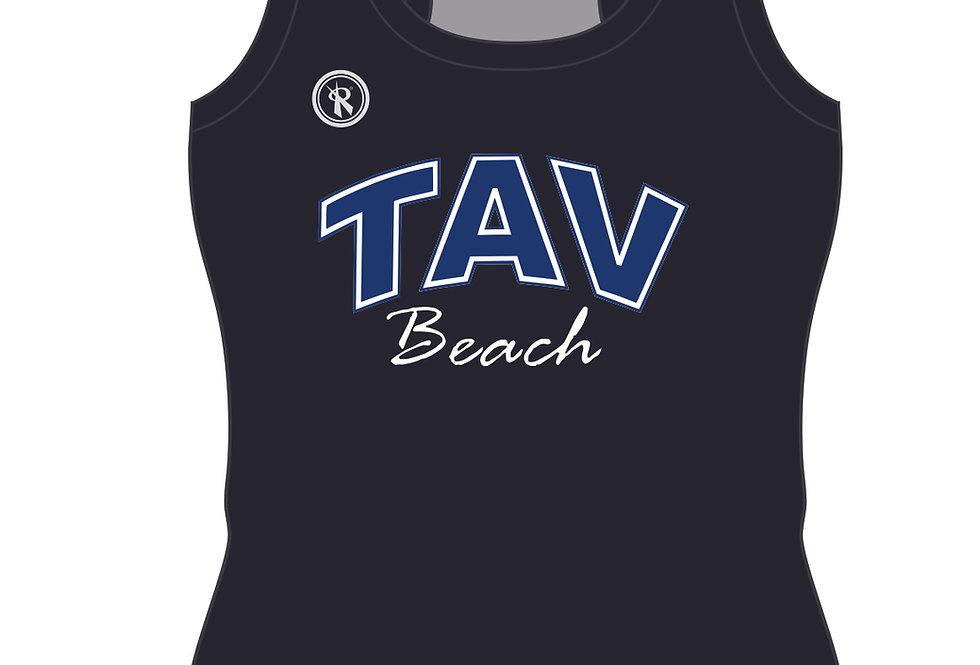 TAV BEACH - MESH TANK TOP