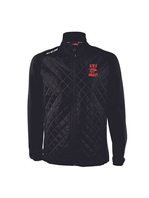 Embroidered - CCM Quilted Jacket