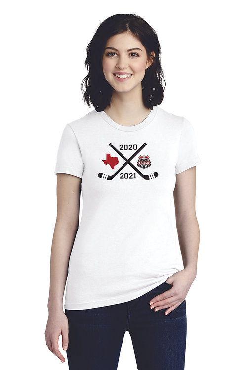 FRISCO 2020/2021 - American Apparel ® Women's Fine Jersey T-Shirt