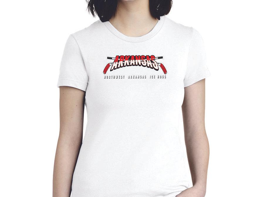 ARKANSAS  - American Apparel ® Women's Fine Jersey T-Shirt