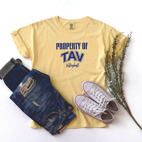 Property of TAV - Comfort Colors ® Heavyweight Ring Spun Tee
