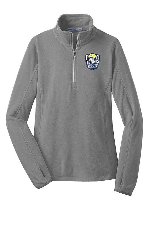 Ladie's Port Authority® Microfleece 1/2-Zip Pullover