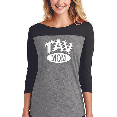 TAV MOM - District ® Women's Rally 3/4-Sleeve Tee
