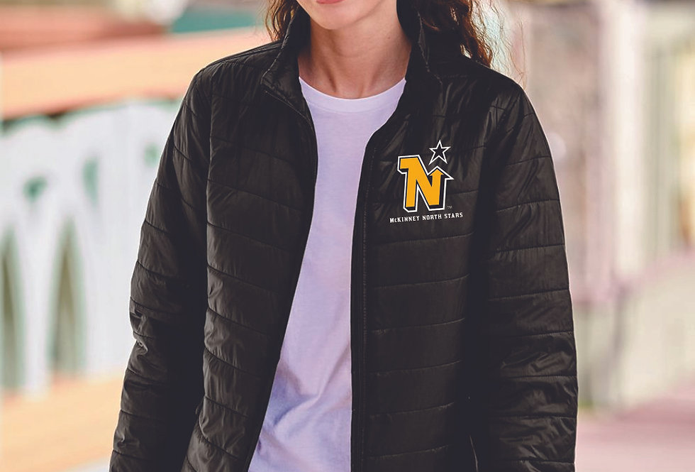 LADIE'S NORTH STARS - Independent Trading Co. - Women's Puffer Jacket