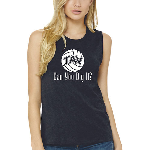 Can You Dig It - BELLA+CANVAS ® Women's Jersey Mus