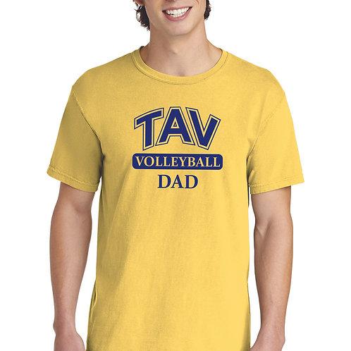 TAV Volleyball Dad - Comfort Colors ® Heavyweight Ring Spun Tee