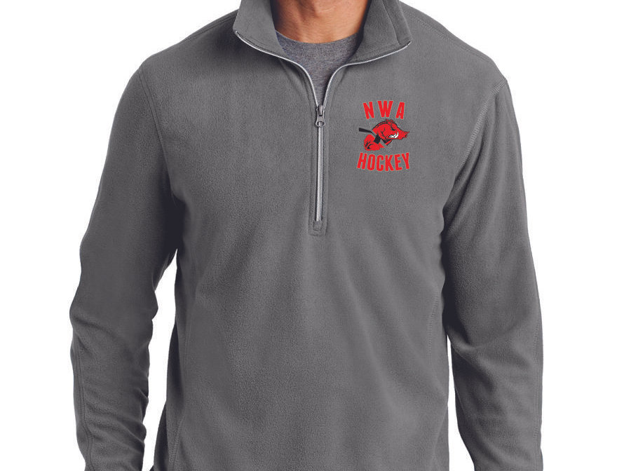 EMBROIDERED - Port Authority® Microfleece 1/2-Zip Pullover