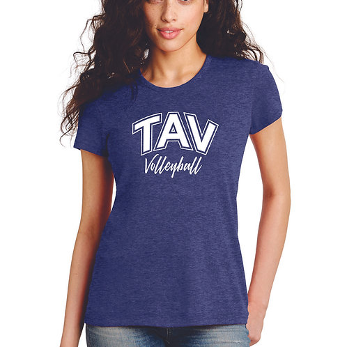 TAV Volleyball Script - Alternative Women's The Keepsake Vintage 50/50 Te