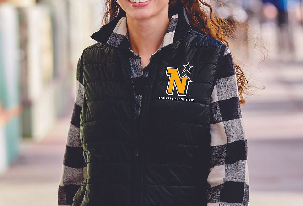 LADIE'S NORTH STARS - Independent Trading Co. - Women's Puffer Vest
