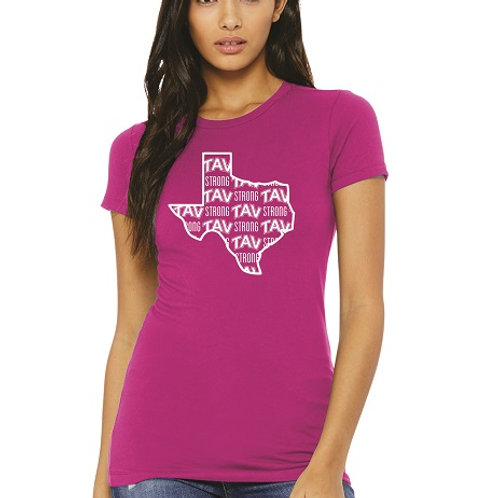 TAV STRONG - BELLA+CANVAS ® Women's The Favorite Tee