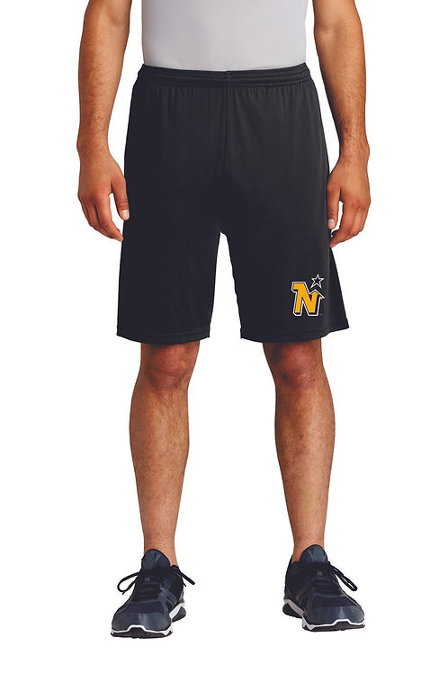 NORTH STARS - Sport Tek Black Pocketed Short
