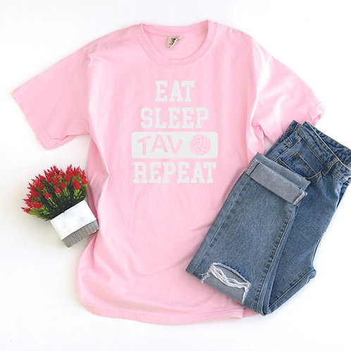 Eat Sleep TAV Repeat - Comfort Colors ® Heavyweight Ring Spun Tee