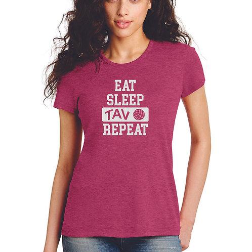 Eat Sleep Repeat - Alternative Women's Keepsake Vint