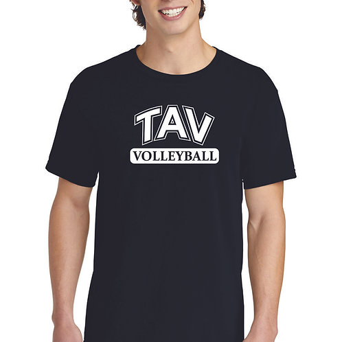 TAV Volleyball - Comfort Colors ® Heavyweight Ring Spun Tee