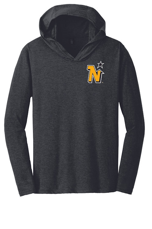 EMBROIDERED NORTH STARS - District ® Perfect Tri ® Long Sleeve Hoodie