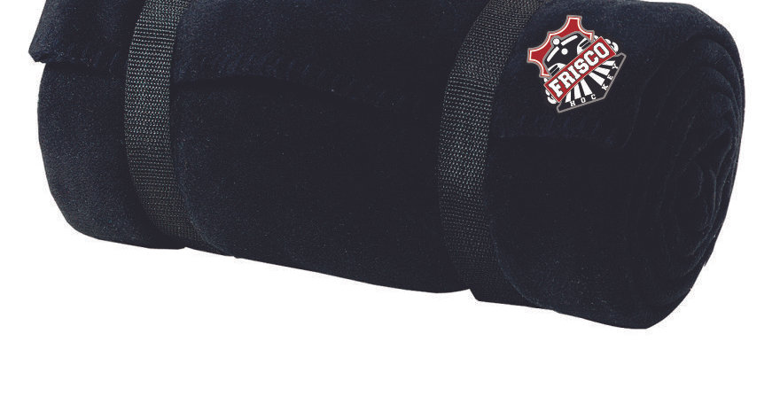 EMBROIDERED FRISCO HOCKEY - Port Authority® - Value Fleece Blanket with Strap