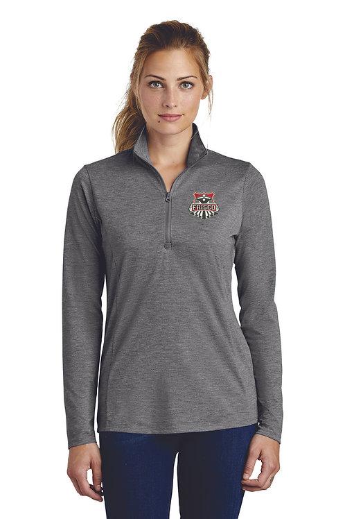 Sport-Tek ® Ladies PosiCharge ® Tri-Blend Wicking 1/4-Zip Pullover