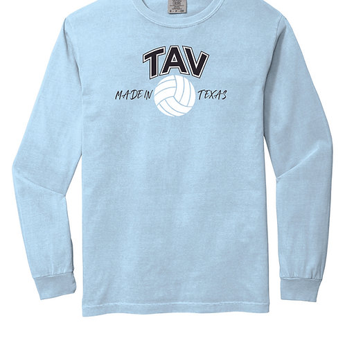 MADE IN TEXAS - LONG SLEEVE Comfort Colors ® Heavyweight Ring Sp