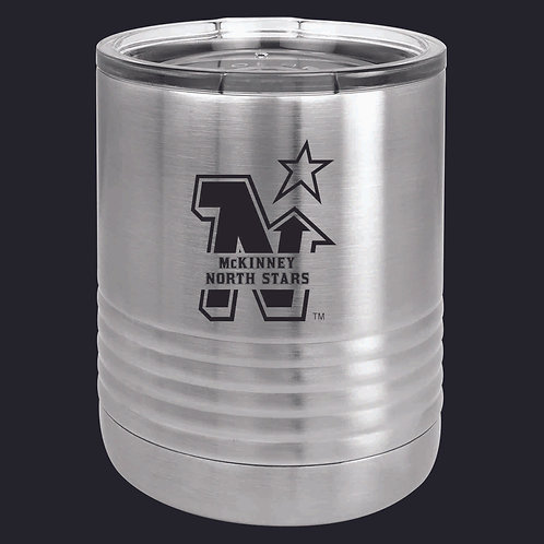 LASER ETCHED - 10 OZ INSULATED STAINLESS STEEL ROCKS TUMBLERS