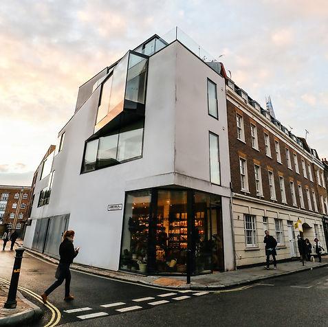 Bermondsey Corner Front Shop
