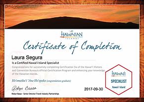 Island of HI certificate.png