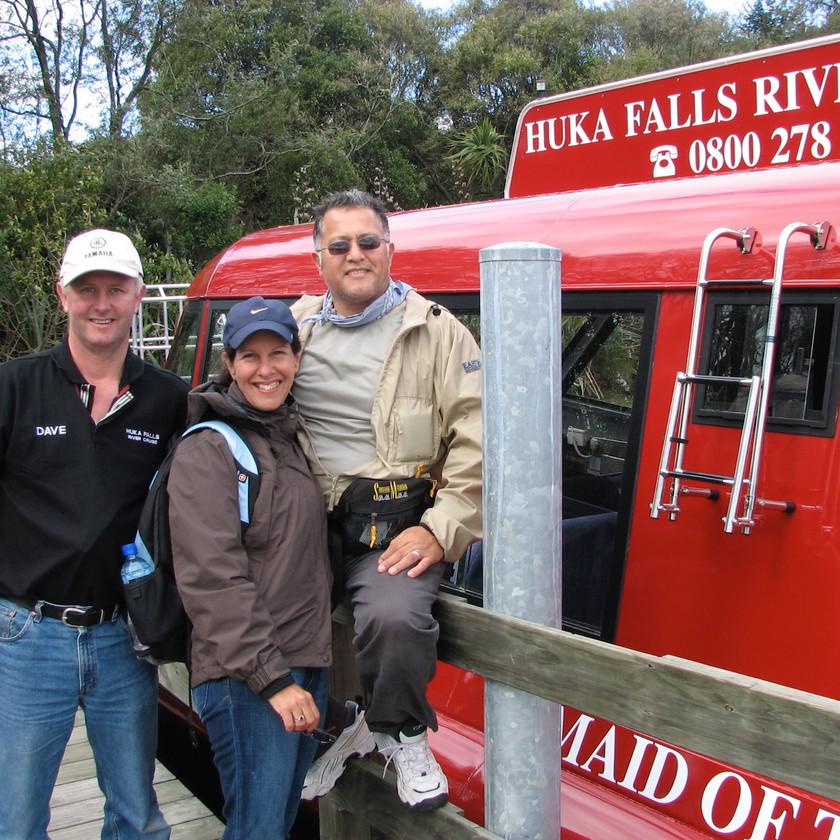 NZ, Dave, Huka Falls Tour
