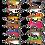 M50 MinMin colour chart