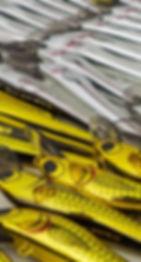 Predatek Viper lures ready for packing at the Predatek factory in Port Macquarie, Australia
