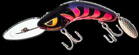 Predatek D120 Downunder Boomerang fishig lure in 'PurpleThin' colour