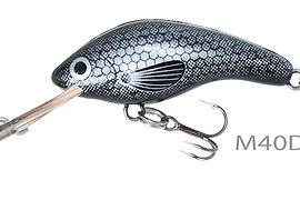 Predatek M40D Micromin lure in Black Beetle (BL) colour