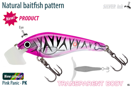 Predatek S50 transparent Pink Panic Spaddler