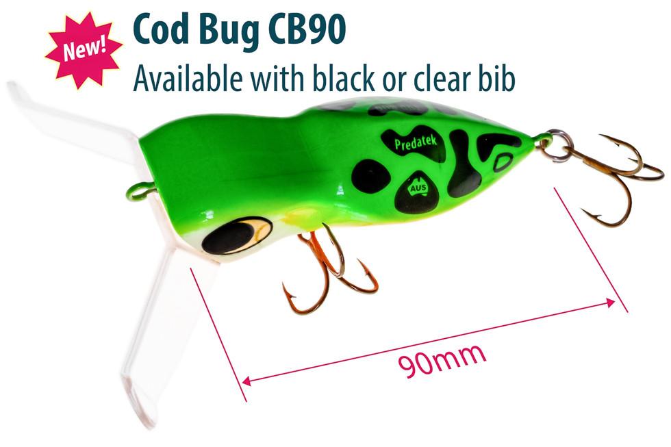 Predatek CB90 Cod Bug surface lure