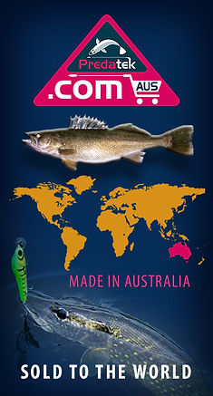 Home page poster for Pradetk fishing lures new online store launched 8 June 2020