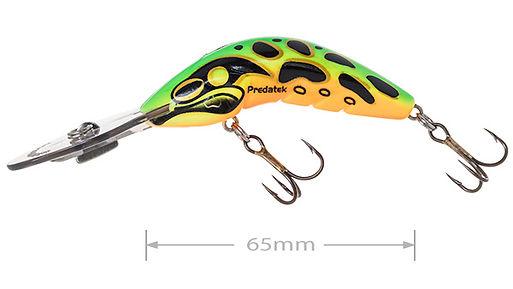 Predatek B65D Boomerang fishing lure in Fire Tiger colours