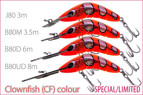 B80 series Clownfish (CF) specials